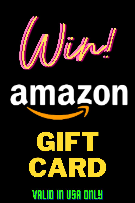 Win Amazon Gift Card Amazon Gift Cards Gift Card Amazon Gifts