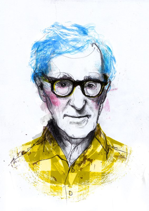 Ilustraciones De Woody Allen Woody Woody Allen Ilustraciones