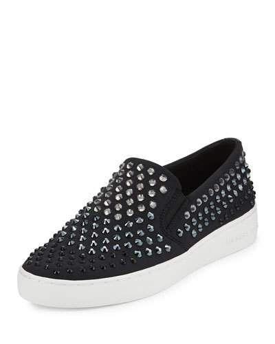 f7f912cfcec53 X3B9Q MICHAEL Michael Kors Keaton Studded Slip-On Sneaker