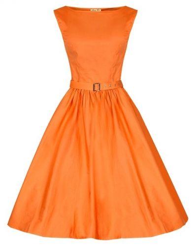 Vintage Style Bridesmaid Dress In Pastel Orange Audrey