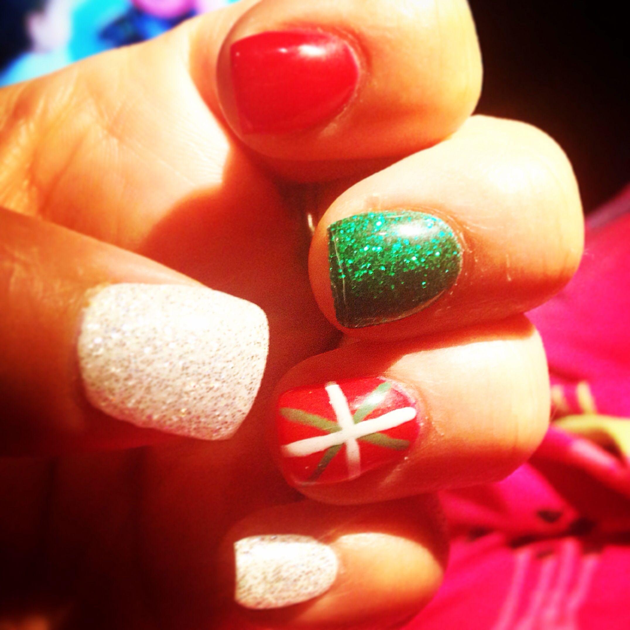 Basque Nails Holiday Nails Seasonal Nails Nail Designs