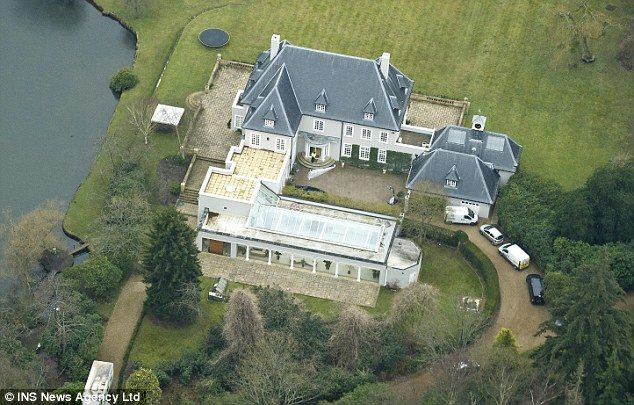Chemical, biological, radiological and nuclear trained officers searched his multi-million pound home