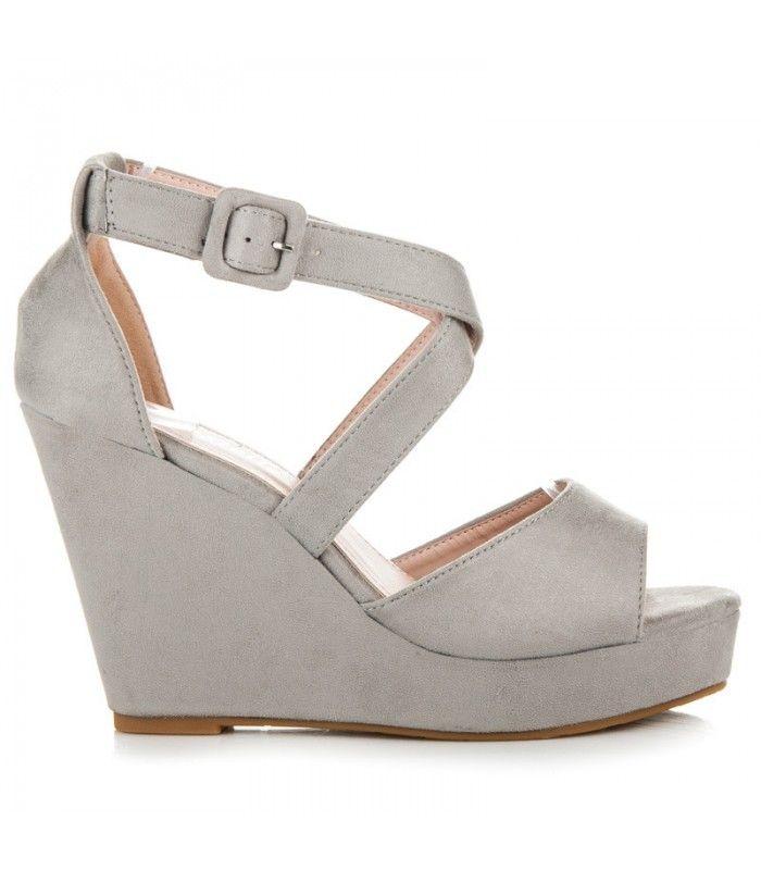 0c2f5b03324d Vysoké sandále na kline FL013G
