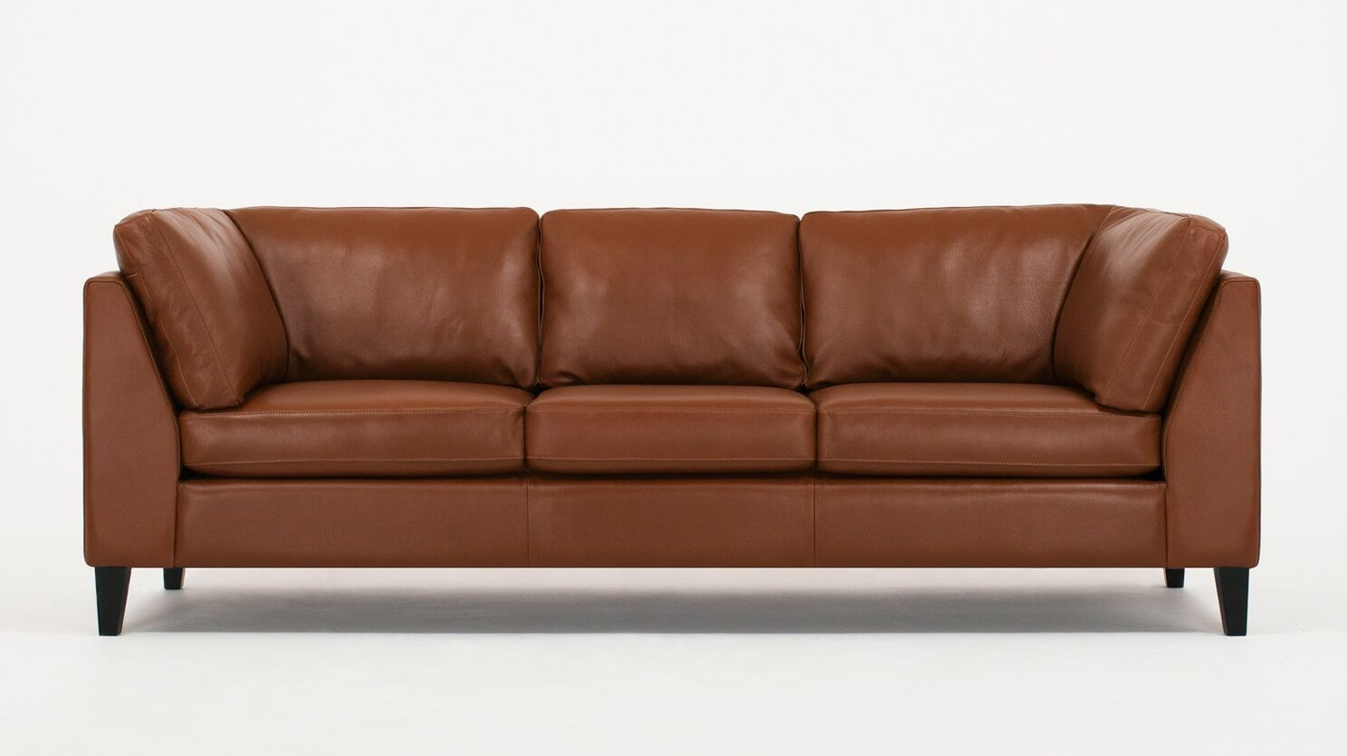 The Salema S Laid Back Design Encourages The Whole Family To Relax This Highly Customizable And Versatile Collection Featu Leather Sofa Tan Leather Sofas Sofa