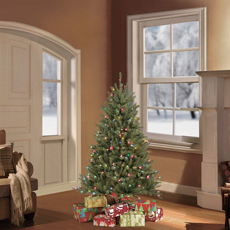 pre decorated artificial christmas trees holiday - Pre Decorated Artificial Christmas Trees