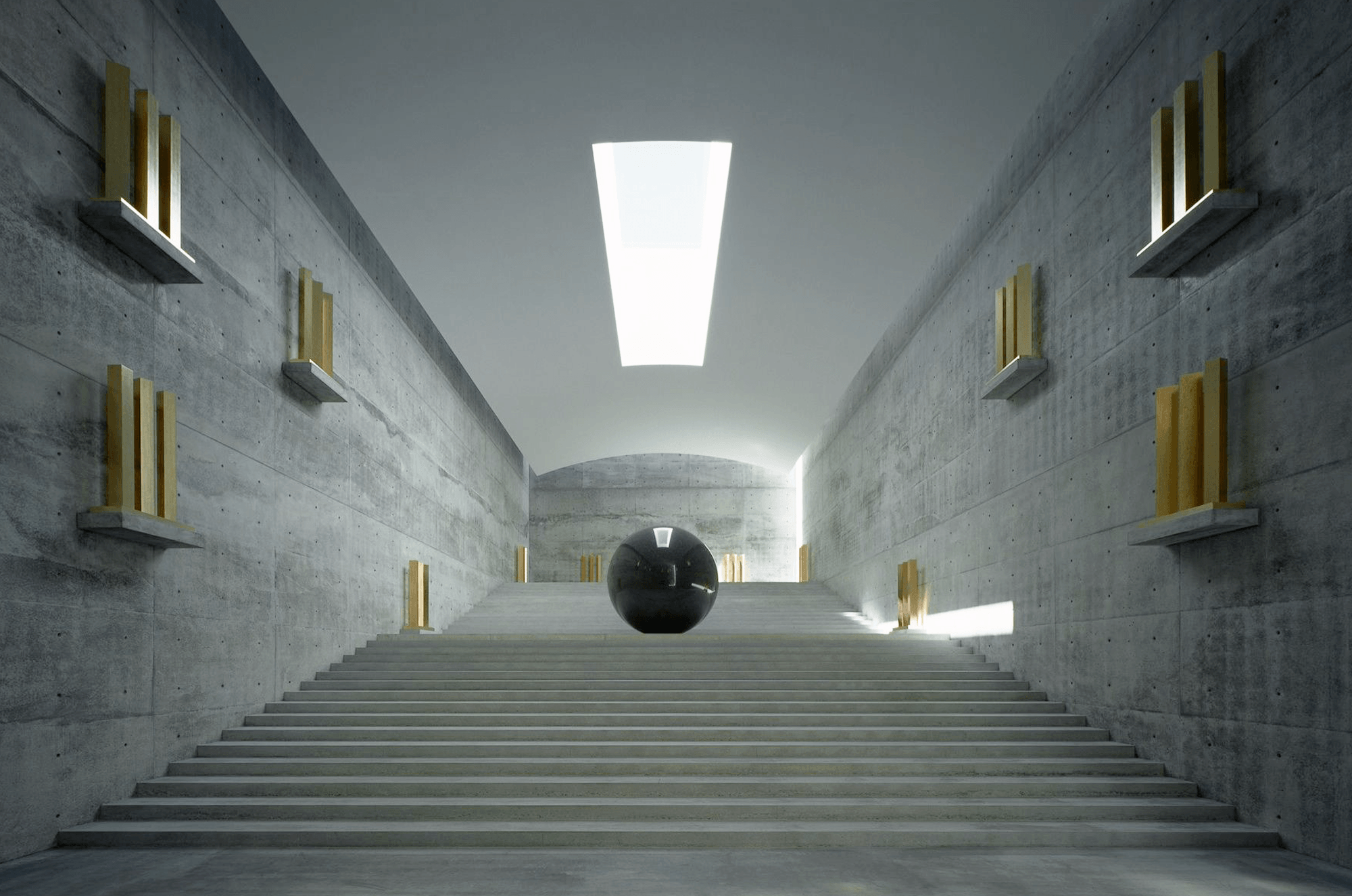 Walter De Maria The Visionary Artist Responsible For The Rise In Minimalist Art Ignant Chichu Art Museum Tadao Ando Art Museums Interior