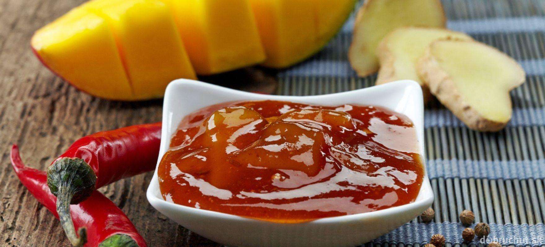 Sladké mangové čatní