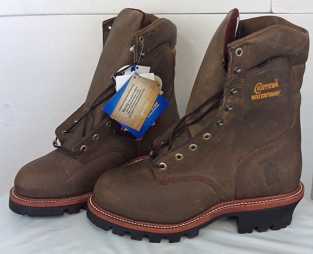 6bc2346350a Chippewa Men's Super Logger 9