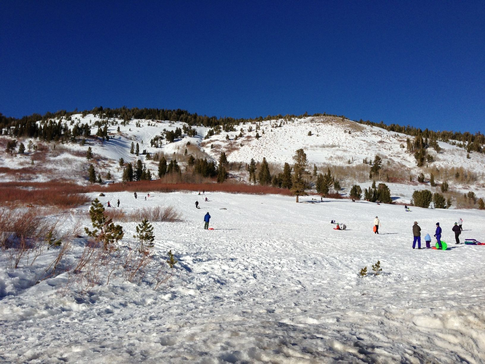 Tahoe Meadows sledding slope Places to visit, Tahoe