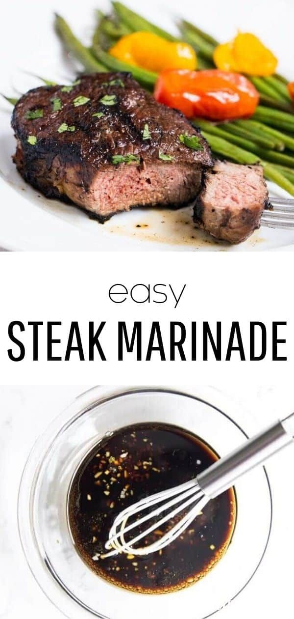 EASY Steak Marinade (5 ingredients!) - I Heart Naptime