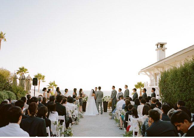 Santa Monica Beach Wedding Christina Kenny Love The Location