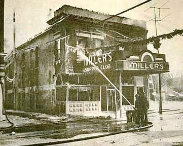 Fire Destroyed Miller S Supper Club At 513 S Adams St Marion In On Dec 6 1958 Photo Marion Public Library Muse Marion Indiana Old Pictures Local History