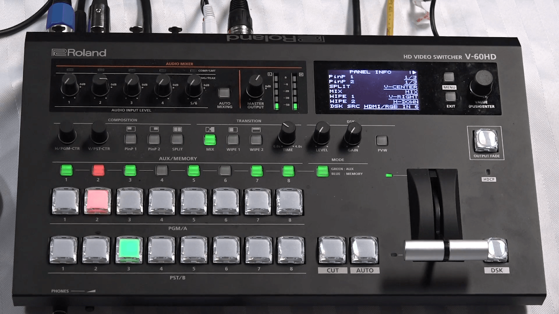 Tutorial: Live Event Streaming with the Roland V-60HD, Part 2—Smart