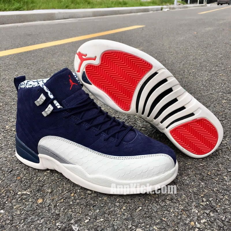 separation shoes 86d82 560e7 air jordan 12 international flight new aj12 12s blue and ...