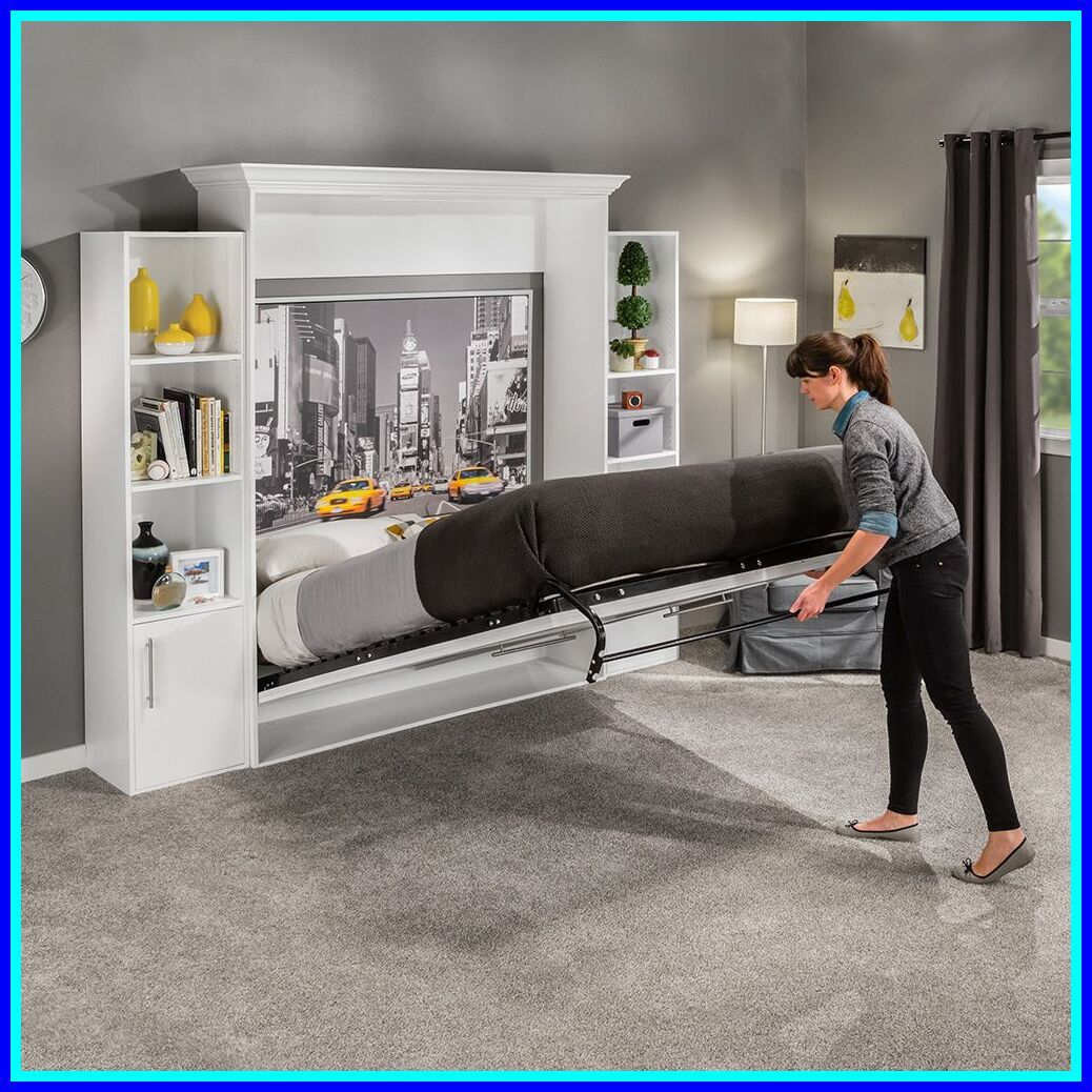 Pin On Murphy Bed Single Bed With Storage