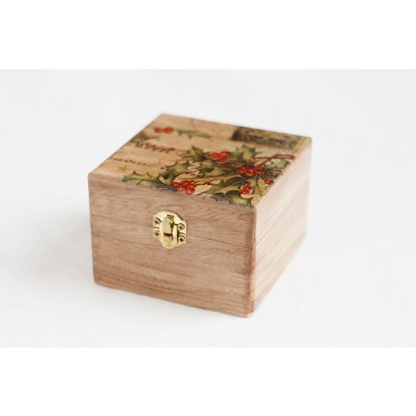 Clearance sale 70 Wooden jewelry box \ - christmas clearance decor