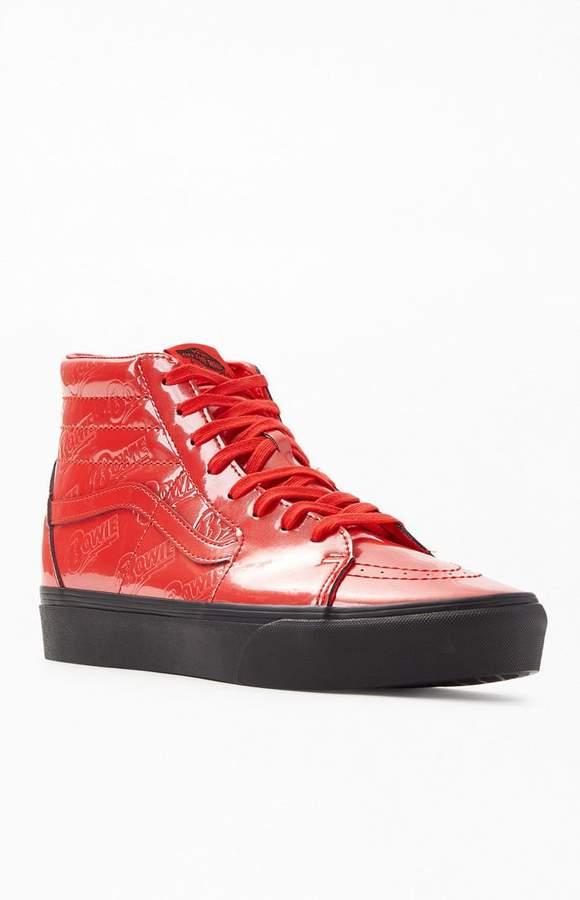 Vans x David Bowie Platform 2.0 Sk8 Hi Shoes in 2019 | Vans