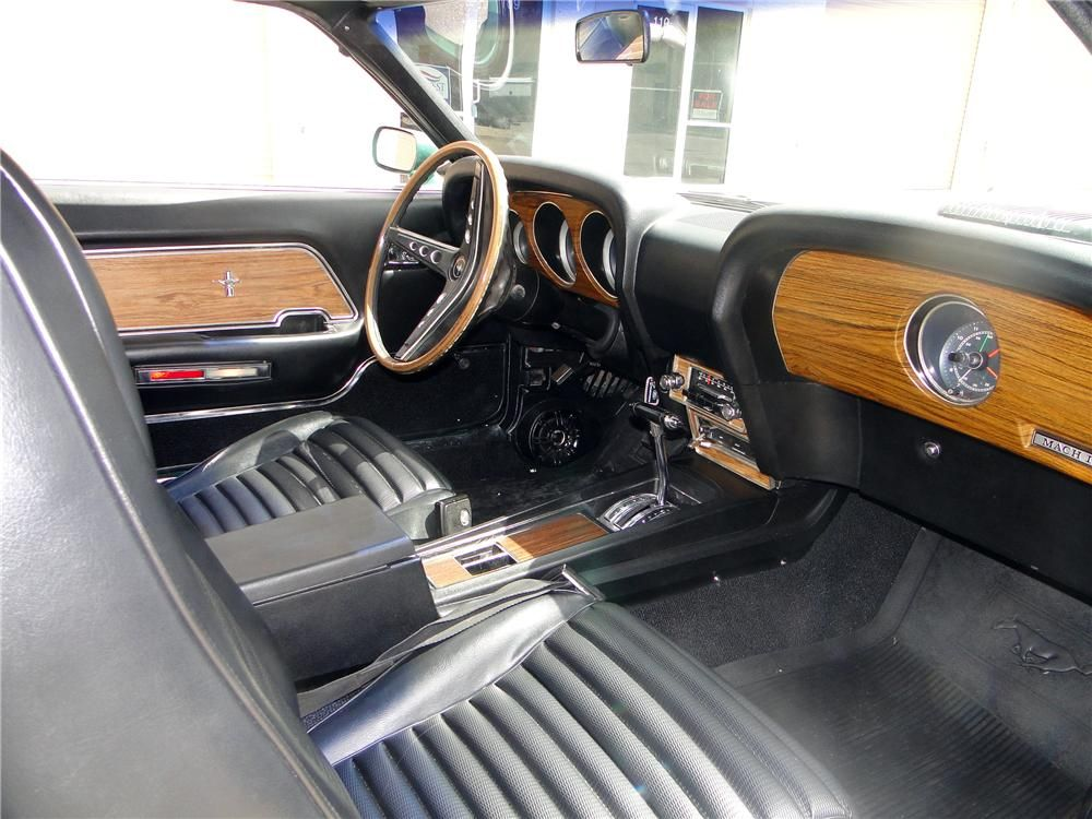 1969 ford mustang mach 1 428 scj the 69 70 had the best interior - 1969 Ford Mustang Interior