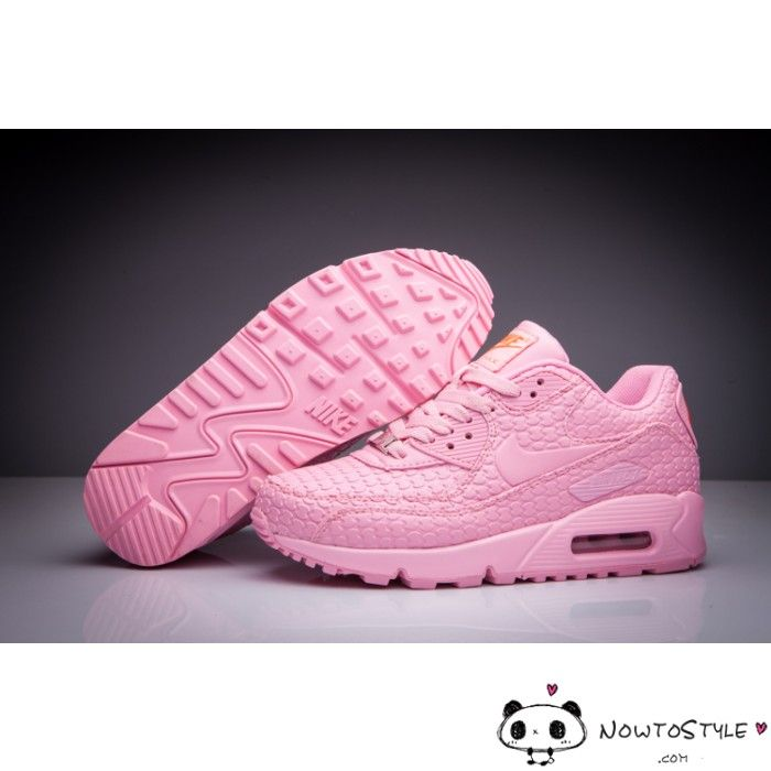 promo code 19acc 8ab6b Nike Air Max 90 Womens Shoes All Pink Shanghai Must Win Cake - Best Seller