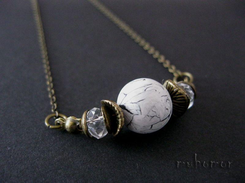 faux marble. pendant