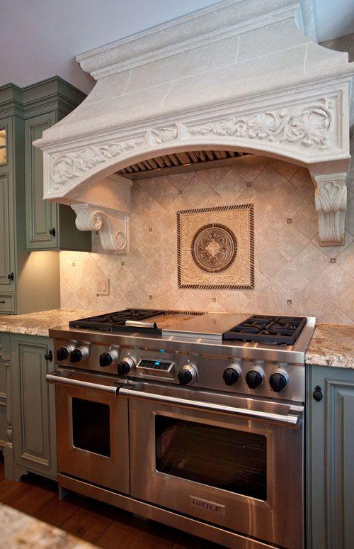 Range Hood Karr Bick Kitchen + Bath. St. Louis, Missouri kitchen and ...