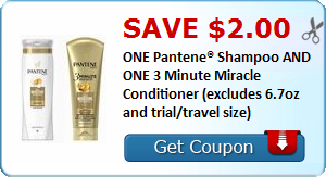 photo regarding Pantene Coupon Printable identify $2 off 1 Pantene Shampoo and A single 3 Instant Wonder