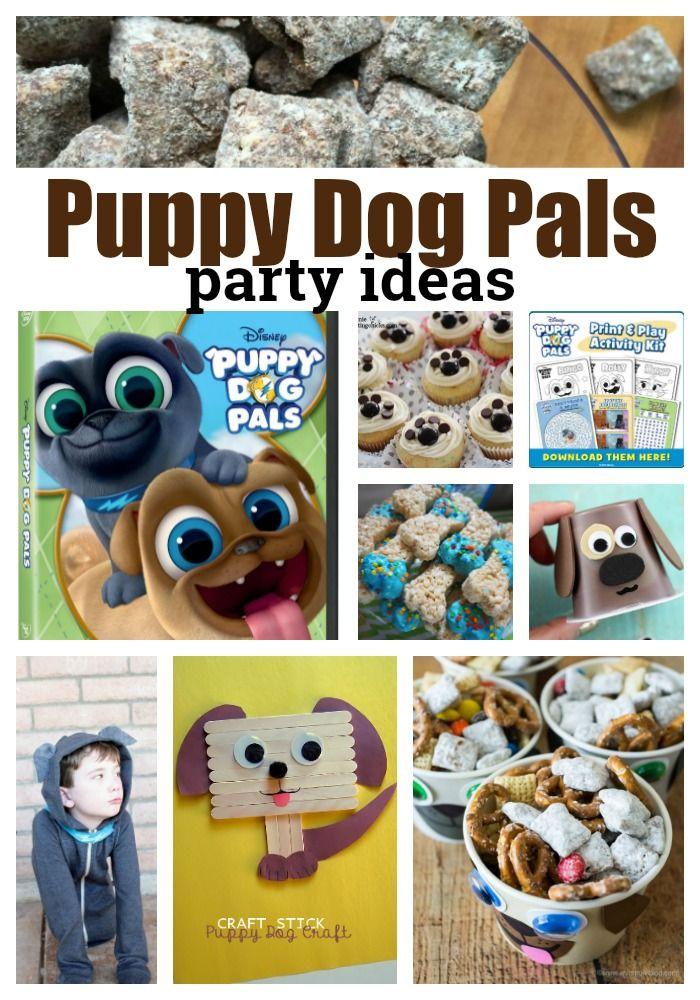 Disney Junior Puppy Dog Pals Birthday Party Ideas Puppy Birthday Parties Puppy Birthday 1st Boy Birthday