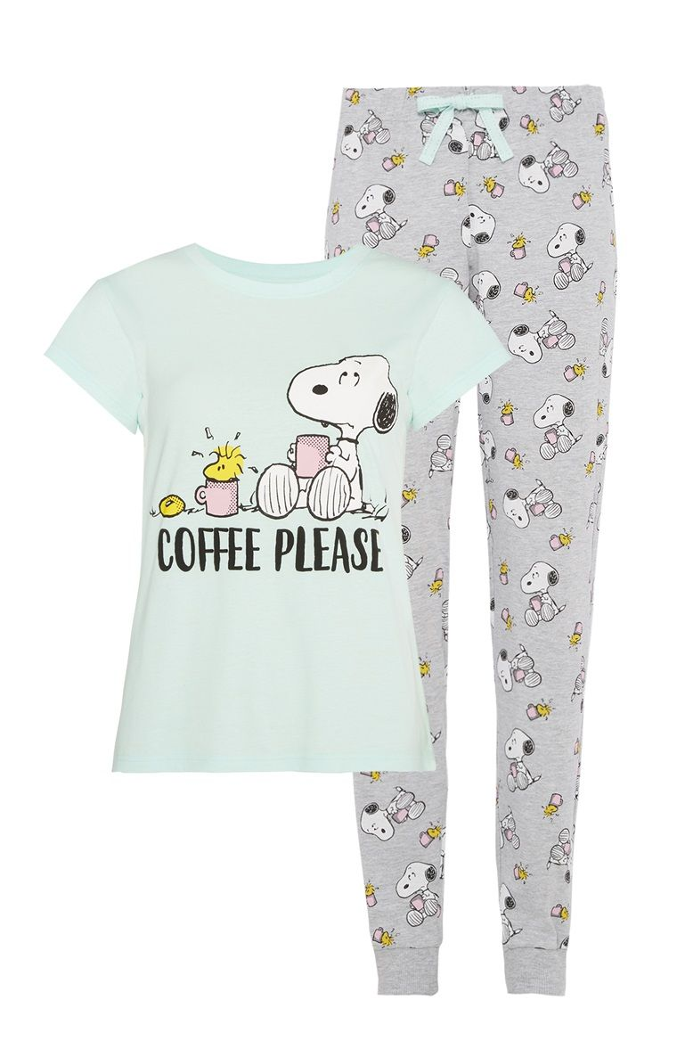1cd1c89e49 Primark - Snoopy Pyjama Set Adult Pajamas