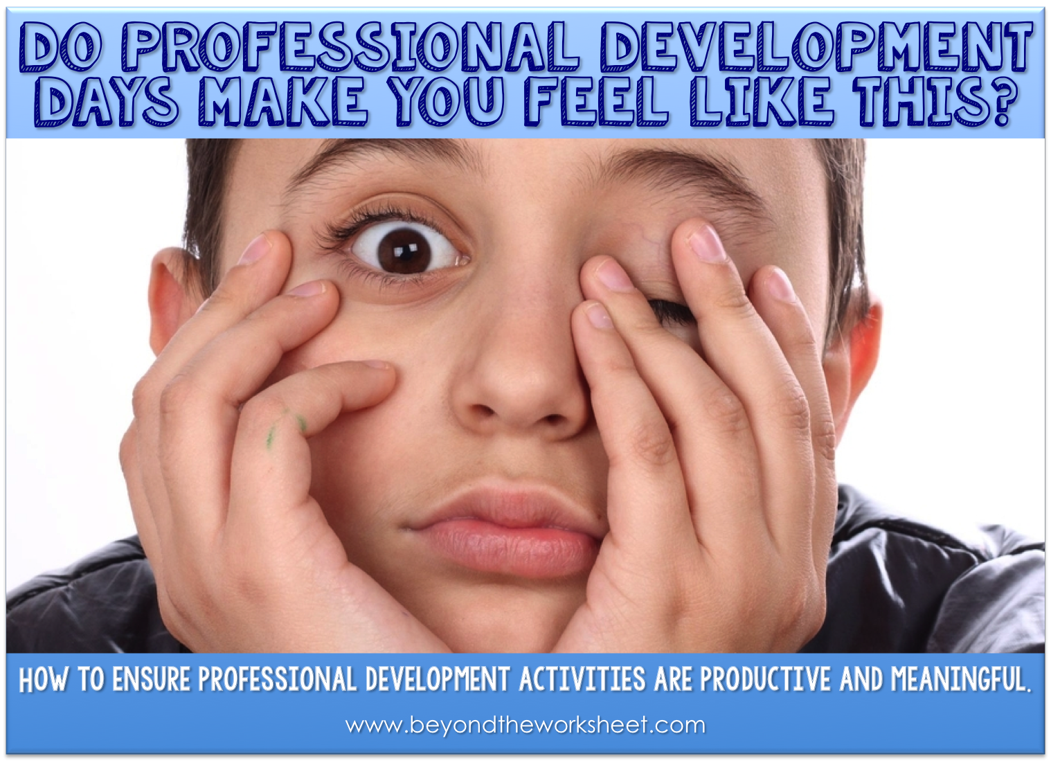 Professional Development That Doesn T Make You Want To