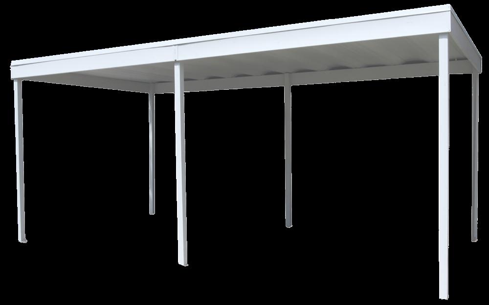 Arrow Freestanding Steel Carport/Patio Cover, 10x20