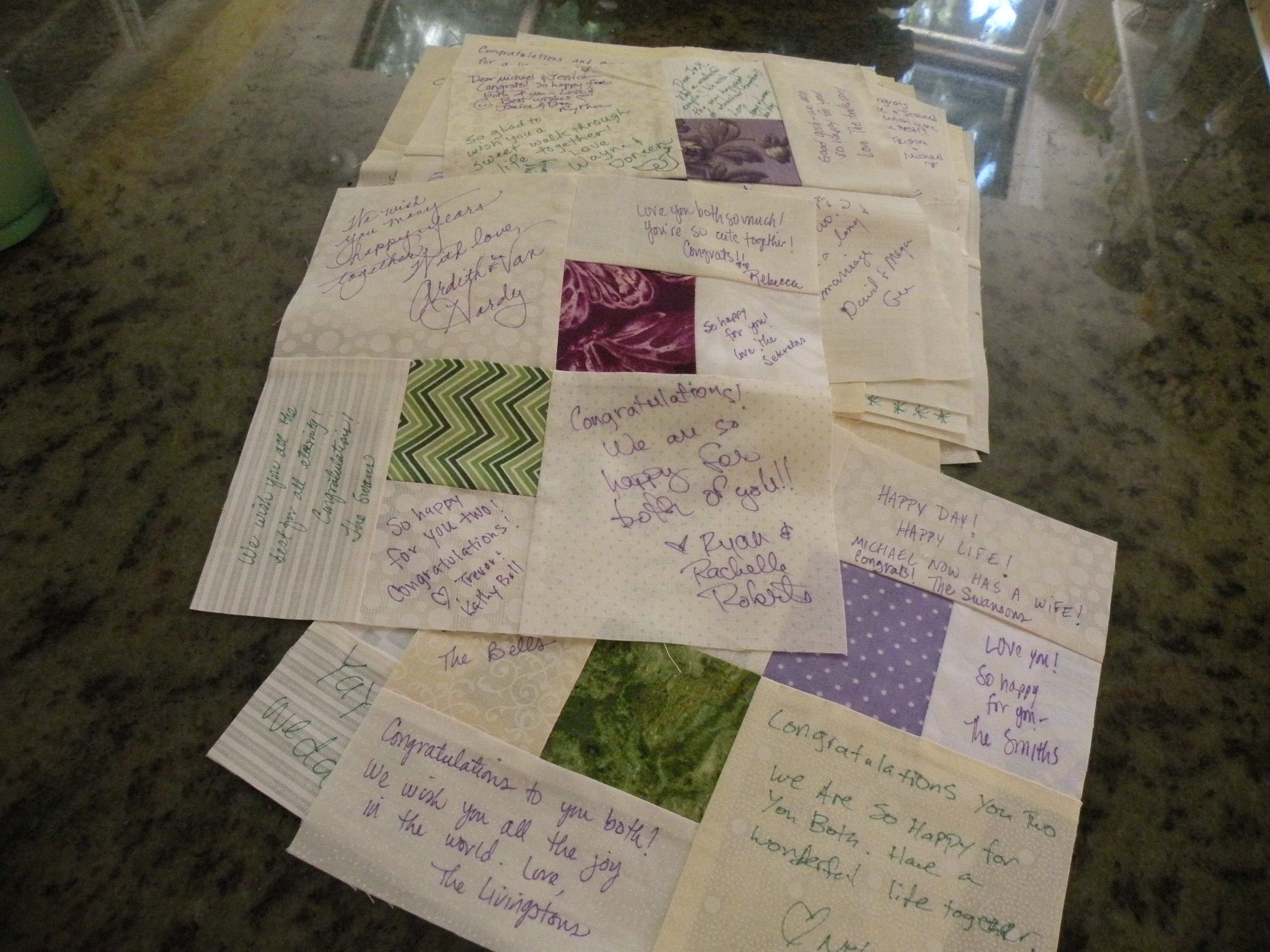 signature quilts for weddings - Google Search | Quilts - Signature ... : wedding signature quilt - Adamdwight.com