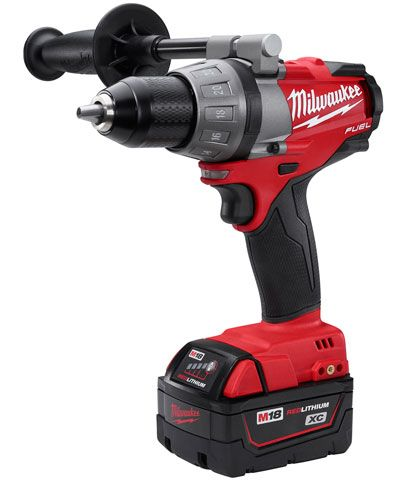 Milwaukee Fuel Brushless Drill Driver - It's compact, yet powerful. Powerful, yet long-lasting, thanks to the brushless motor and high-performance batteries.