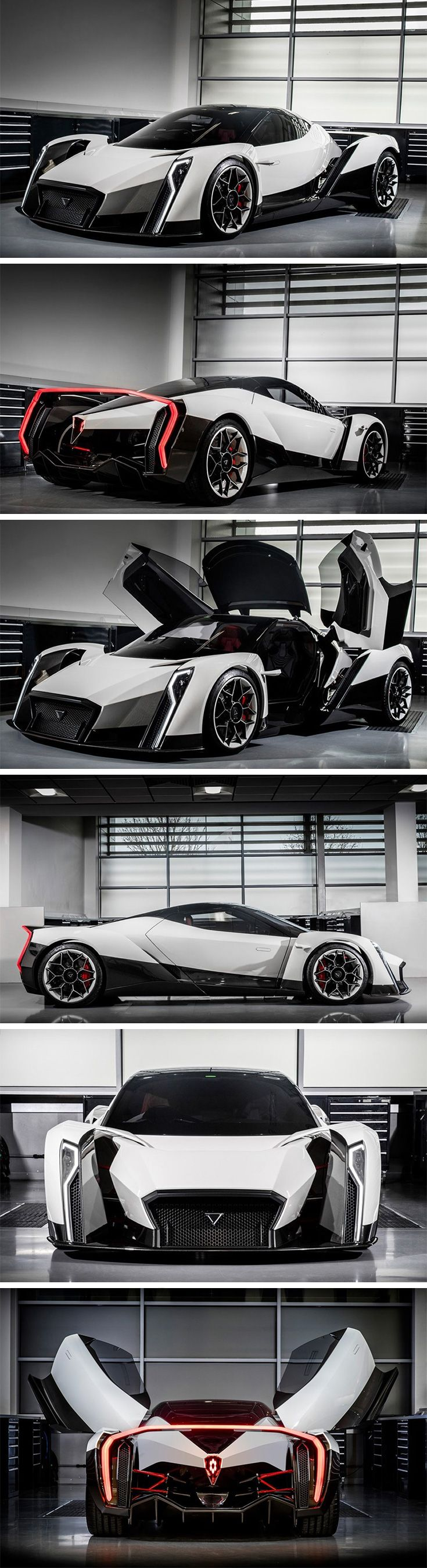 This Absolute Monster Of A Car By Singapore Based Vanda Electrics