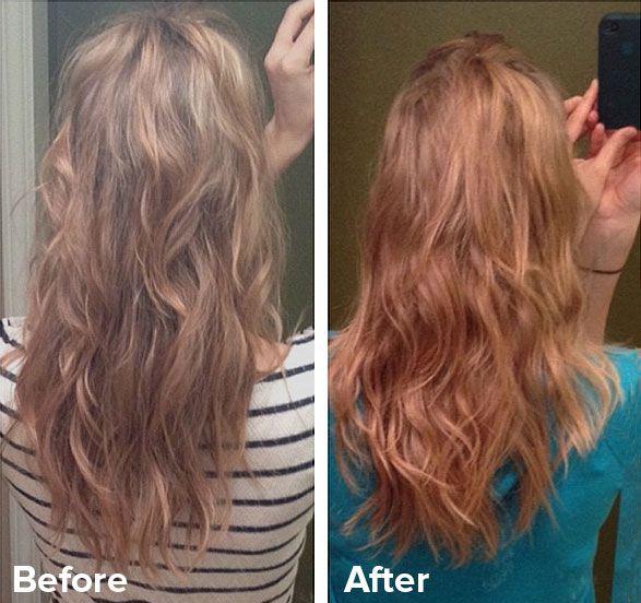 Natural Henna Hair Dye Light Blonde Red Hair In 2019 Hair Henna