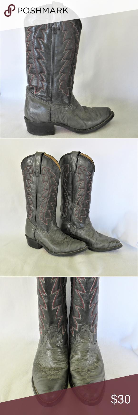6fa9cdbfacc Wrangler Men's 6.5 EE Western Boots A very nice pair of Wrangler ...