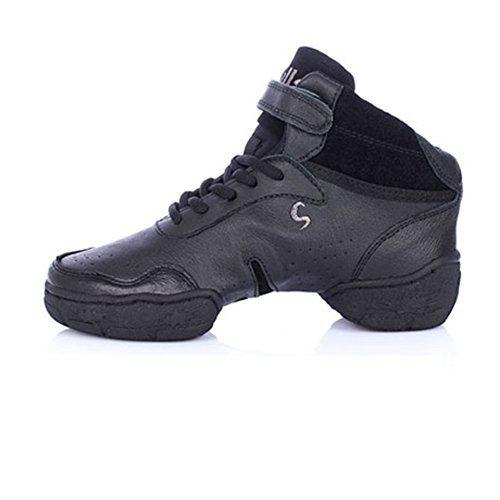 Professional Modern Dance Shoes Lady Shoesincreased Soft Jazz Shoe Leather Dance Shoesc Foot Len Leather Sneakers Women Leather Sneakers Men Modern Dance Shoes