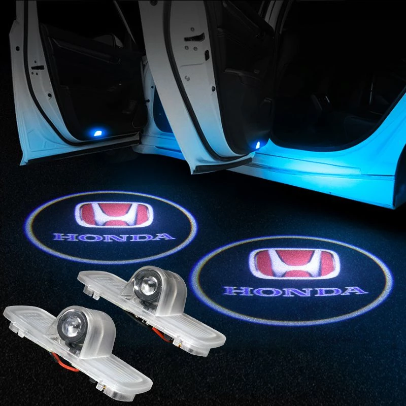 Honda Compatible Car Led Door Logo Projector Lights Honda Honda Accord Custom Car Brands Logos