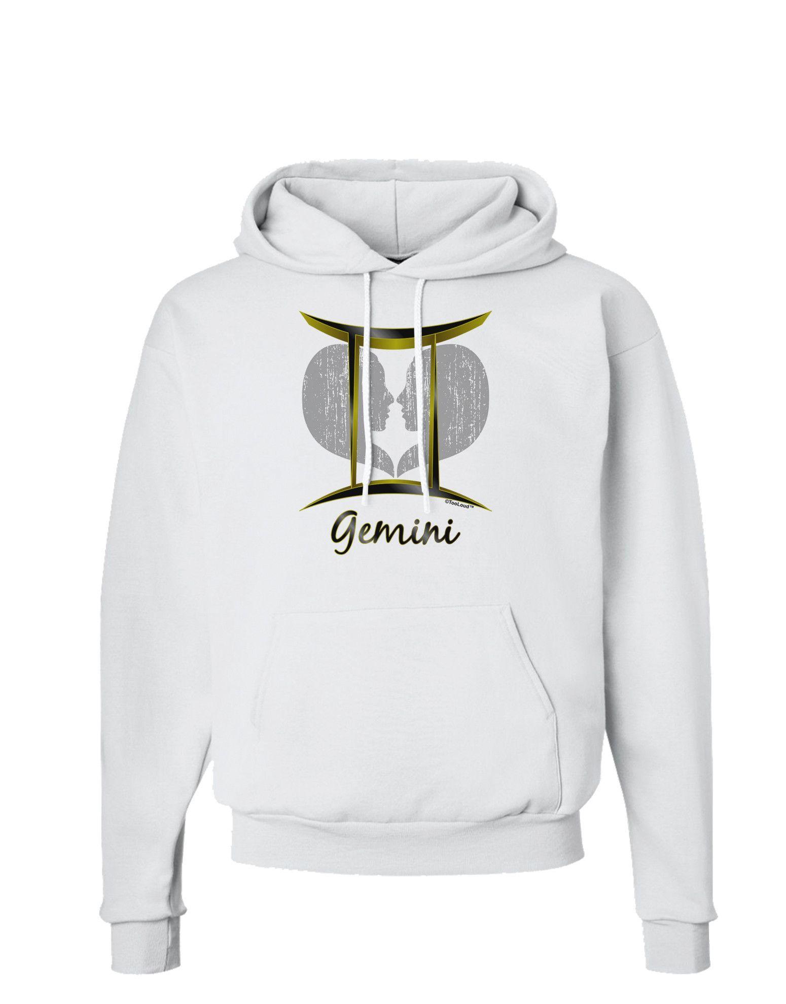 Gemini symbol hoodie sweatshirt gemini symbol gemini and symbols tooloud gemini symbol hoodie sweatshirt buycottarizona