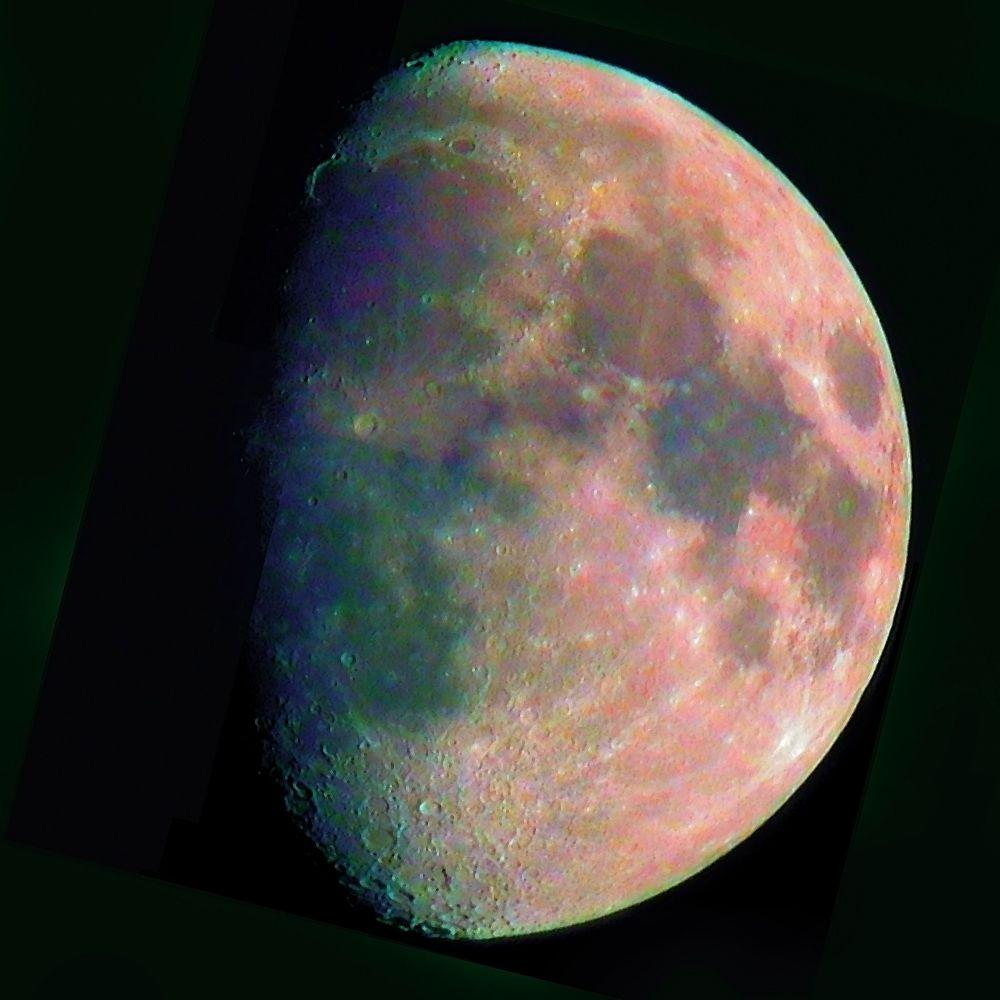 Trois Quart De Lune Beautiful Moon Moon Madness Moon Pictures