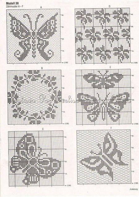 F131c6f1533c87d0c0ce6153f1d5bb2d Jpg 450 640 Pixels Hakelvorhange Schmetterling Hakeln Strickvorlage