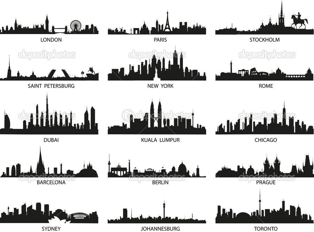 Vector Skyline Della Citta Skyline Di Londra Skyline