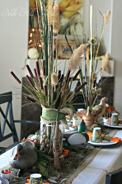 Thanksgiving Duck Dynasty Style Hunting Birthday Party