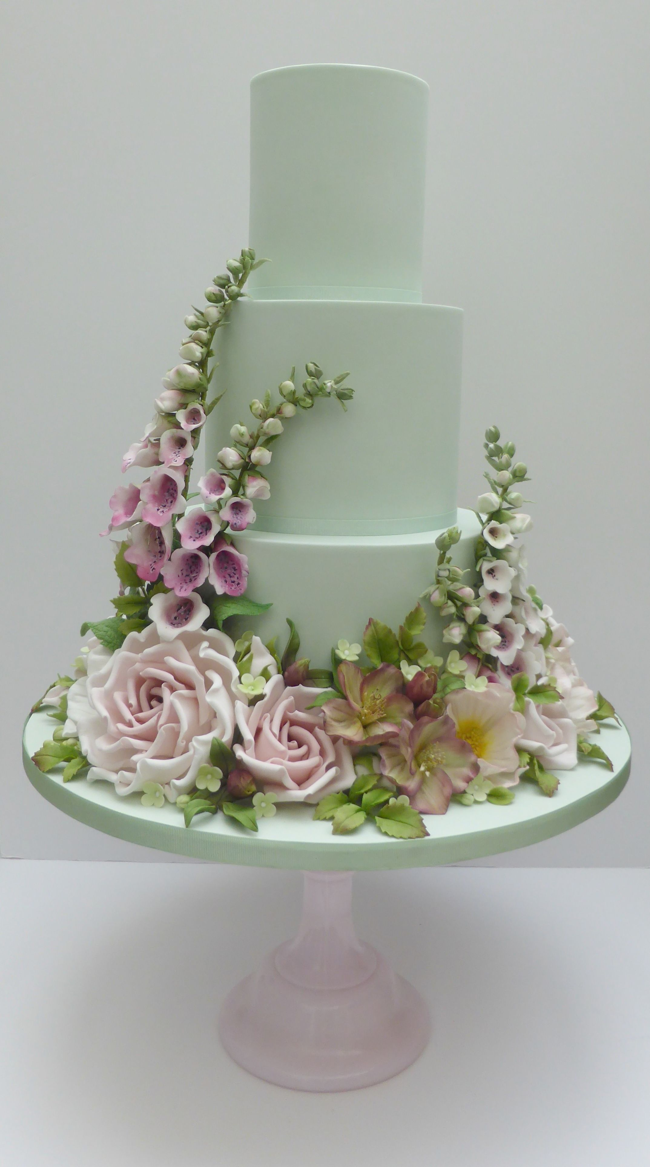 Wedding decorations nigeria  Beautiful Wedding Cake With Name Edit Pictures Of Traditional