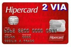 Cartao Hipercard 2 Via Com Imagens Fatura Do Cartao Carta