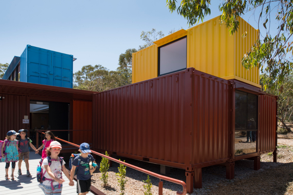 Shipping Container School Classrooms Conexwest Conexwest School Building Design Shipping Container Building Design