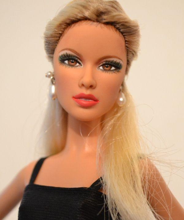 https://flic.kr/p/xDH3y4 | Vixen- Daria Barbie Face Sculpt Repaint by DollAnatomy.com