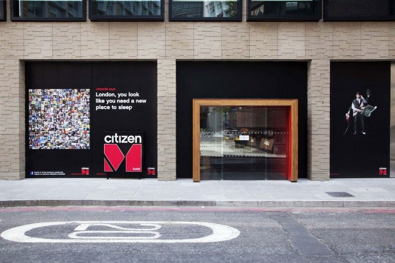 CitizenM London Bankside by Concrete Architectural Associates - design hotel citizenm london