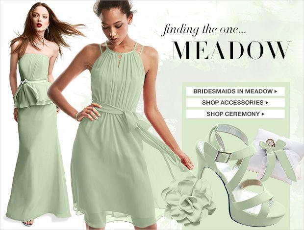 Color Palettes, Bridesmaid Dresses By Color