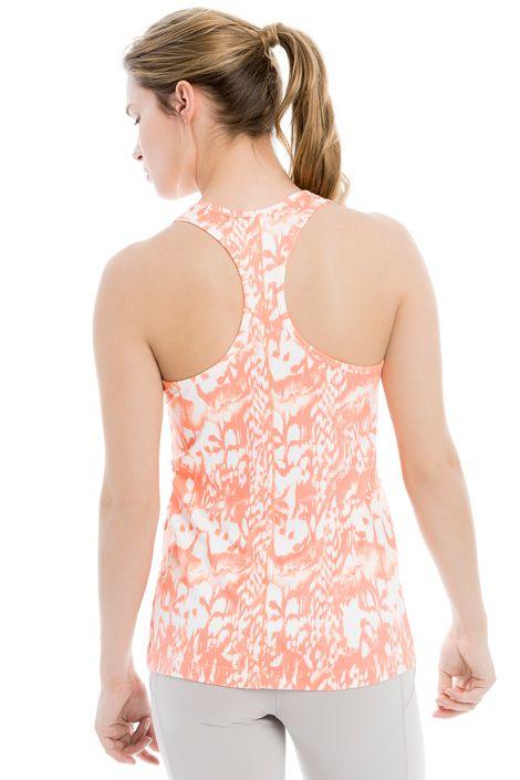 This racer-back tank top variety of prints and solids will liven up any workout wardrobe. / Cette camisole au dos athlétique est tout à fait dans le coup avec ses lignes épurées et son tissu à la texture peau de pêche.
