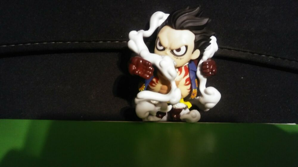 Luffy given a fun, funky stylised look as a collectible vinyl pop figure, created by funko. One Piece Wallpaper: Funko Pop One Piece Luffy Gear 4
